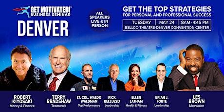 Get Motivated! Denver with Robert Kiyosaki, Les Brown, Terry Bradshaw tickets