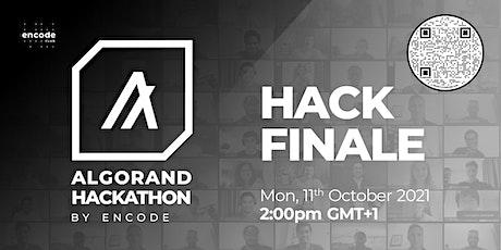 Algorand Hackathon Finale tickets