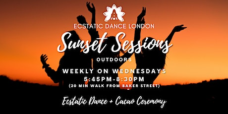 Ecstatic Dance London SUNSET SESSIONS on Wed- Outdoor Silent Disco  & Cacao tickets