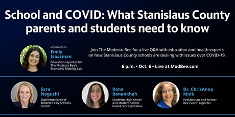 School and COVID: What Stanislaus County parents and students need to know tickets