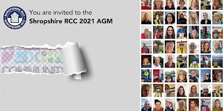 Shropshire RCC's 2021 AGM tickets