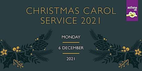 Asthma UK Christmas Carol Service 2021 tickets
