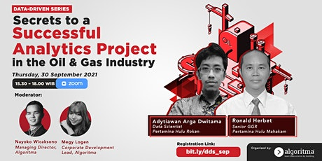 Secrets to a Successful Analytics Project in the Oil & Gas Industry tickets