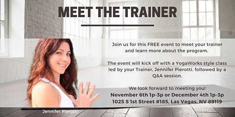 YogaWorks Teacher Training - Meet the Trainer tickets
