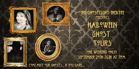 Ghost Tours at the Ghostlight Theatre tickets