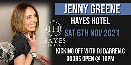 Jenny Greene @ Hayes Hotel tickets
