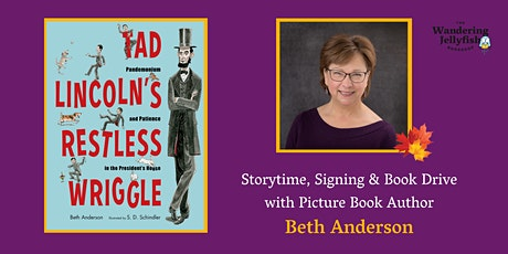 Storytime, Signing, and Book Drive with Author Beth Anderson tickets