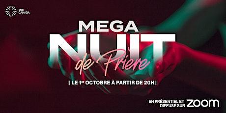 Méga Nuit de Prière- Inscription requise 20h00 billets