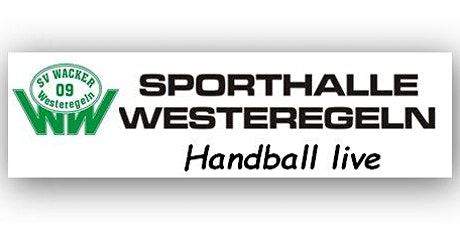 BL-WJD: SV Wacker 09 Westeregeln - HT 1861 Halberstadt Tickets