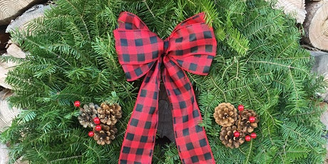 """Make Your Own Fresh 16"""" Holiday Wreath-Tuesday, Nov. 30th 6:30pm tickets"""