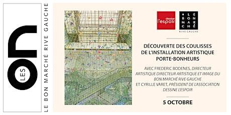 Les ON: Découverte de l'exposition artistique Porte-Bonheurs billets