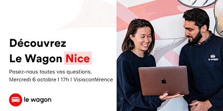 Session d'information Le Wagon Nice l Développement Web 06/10 billets