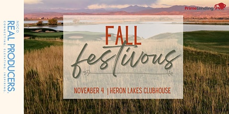 Fall Festivous at Heron Lakes Clubhouse tickets