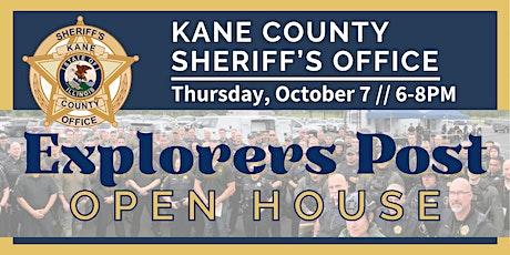 Kane County Sheriff Office Explorer Post Program Open House tickets