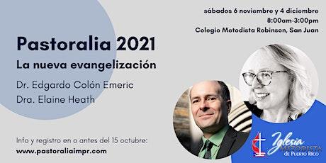 Pastoralia 2021: La nueva evangelización tickets