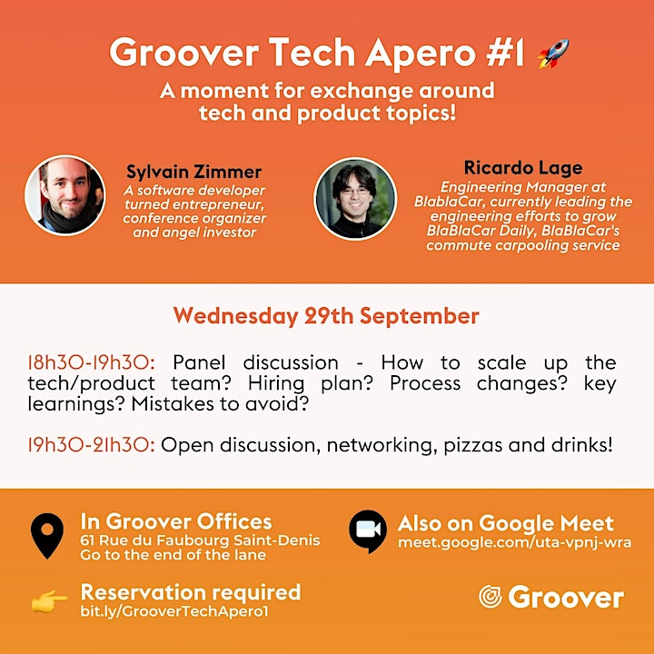 Groover #1 Tech Apero image