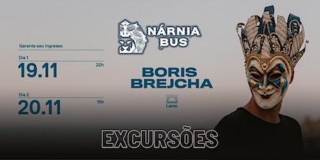 Excursão Boris Brejcha na Laroc! | Nárnia Bus ingressos