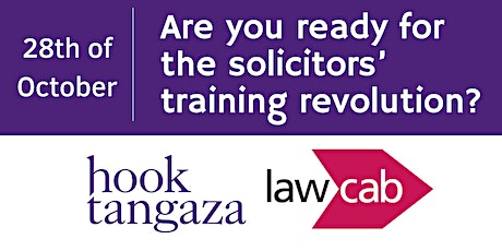Are you ready for the solicitors' training revolution? tickets
