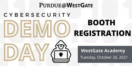 Cybersecurity Demo Day - Booth Registration tickets