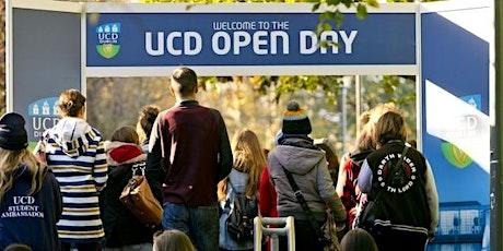 UCD Open Day 2021 tickets
