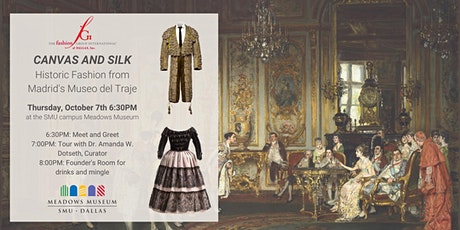 Guided Tour - Canvas & Silk: Historic Fashion from Madrid's Museo del Traje tickets