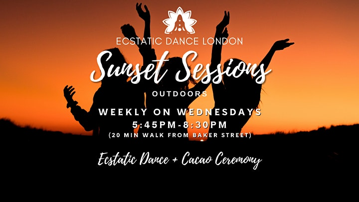 Ecstatic Dance London SUNSET SESSIONS - Outdoor Silent Disco  & Cacao image