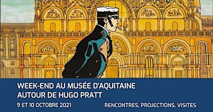 Rencontre avec Jean-Denis Pendanx autour d'Hugo Pratt | musée d'Aquitaine billets