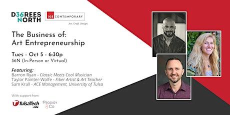 The Business of Art Entrepreneurship Panel tickets