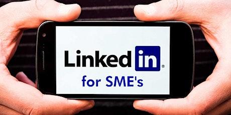 LinkedIn for SME's - Beginners Workshop tickets