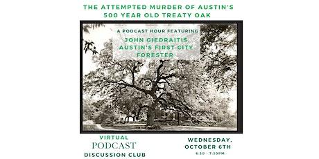TreeFolksYP Podcast Club: Criminal - Episode 36: Perfect Specimen tickets
