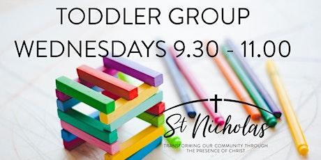 St Nicholas Church Toddler Group Wednesdays 9.30am - 11am tickets