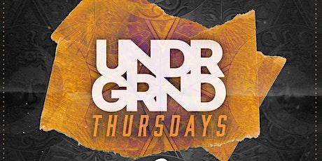 UNDRGRND Thursdays DJ Night @ Boone Saloon tickets