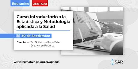 Curso SAR introductorio a la estadística y metodología aplicada a la salud. entradas