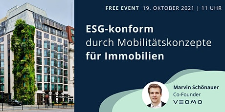 ESG-konform durch Mobilitätskonzepte für Immobilien Tickets