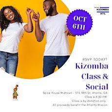 Beginner Kizomba Class & Social in Atlanta tickets