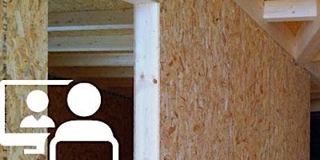 WEBINAR GEOMETRI | Progettare e costruire in legno biglietti