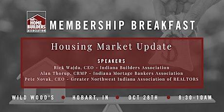 Housing Market Update & Membership Breakfast tickets