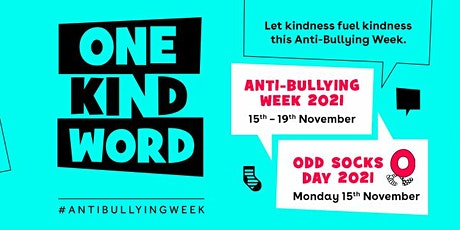 Anti-Bullying Week 2021: One Kind Word - Social Media Stakeholder Event tickets