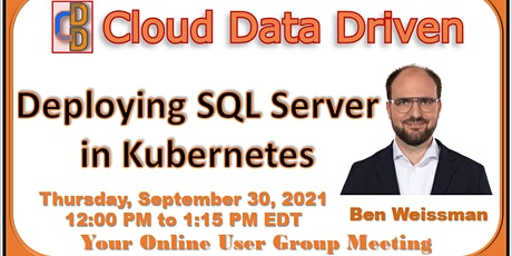 Deploying SQL Server in Kubernetes tickets