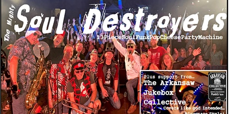 Soul Destroyers + The Arkansaw Jukebox Collective @ Malmesbury Town Hall tickets