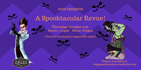 DCGS Presents, A Spooktscular Revue tickets