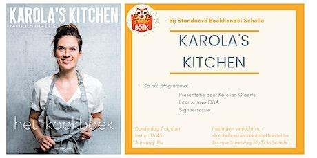 Boekvoorstelling Karola's Kitchen tickets