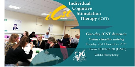 Individual Cognitive Stimulation Therapy (iCST) Dementia Education Training tickets