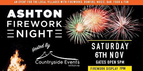 ASHTON FIREWORK NIGHT 2021 tickets