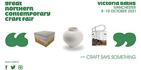 Great Northern Contemporary Craft Fair, Victoria Baths, Manchester tickets