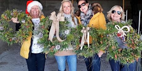 CHRISTMAS WREATH WORKSHOPS tickets