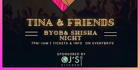 Tina & Friends BYOB event tickets