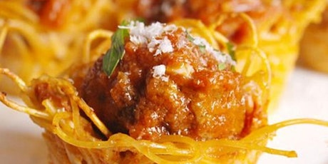 Spaghetti Cups & Meatballs and Wood Art FUNshop tickets