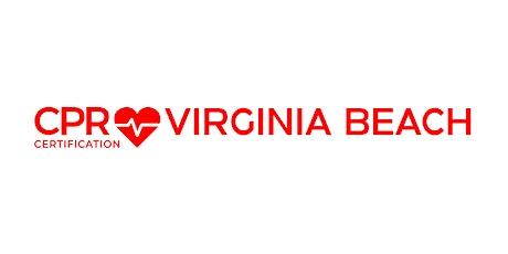 CPR Certification Virginia Beach tickets