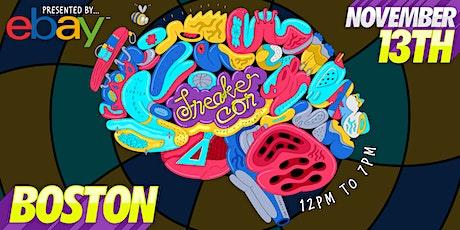 Sneaker Con Boston November 13th, 2021 tickets